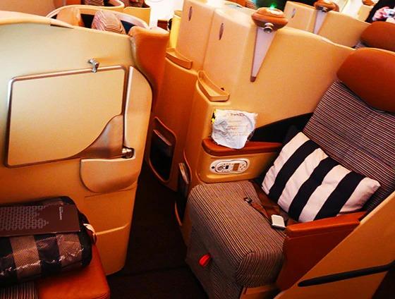 エティハド航空 ビジネスクラス 01