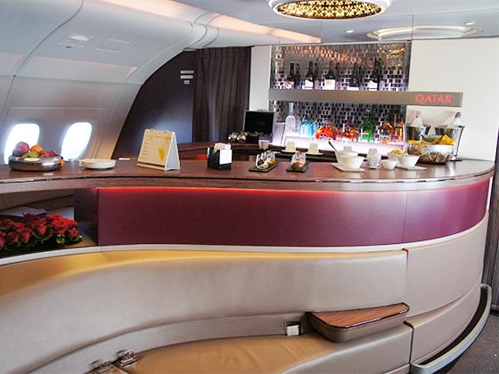 カタール航空 ビジネスクラス 13