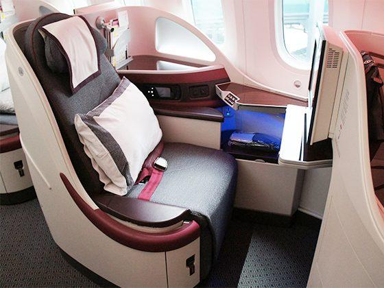 カタール航空 ビジネスクラス 04