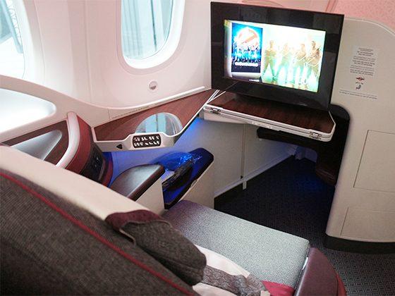 カタール航空 ビジネスクラス 05