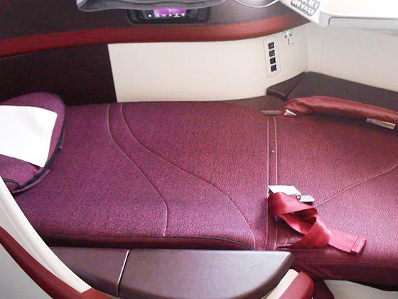 カタール航空 ビジネスクラス 07
