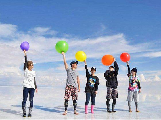 ウユニ塩湖 撮影 01