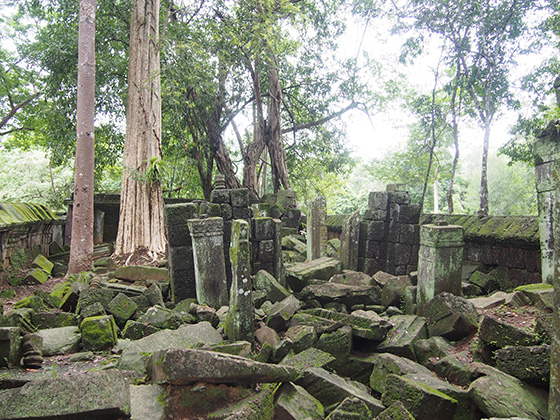 カンボジアのコーケ遺跡003