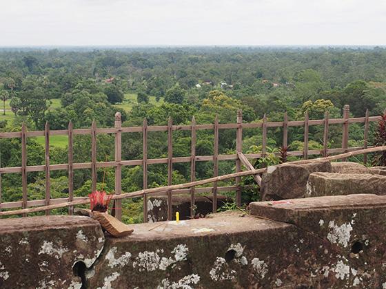 カンボジアのコーケ遺跡008