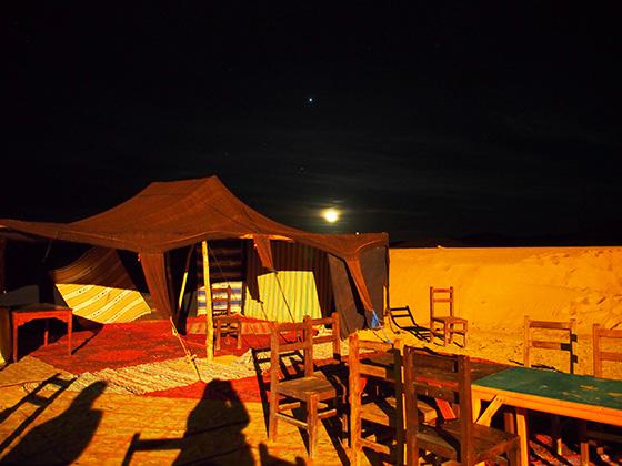 モロッコ サハラ砂漠 ラクダ 04