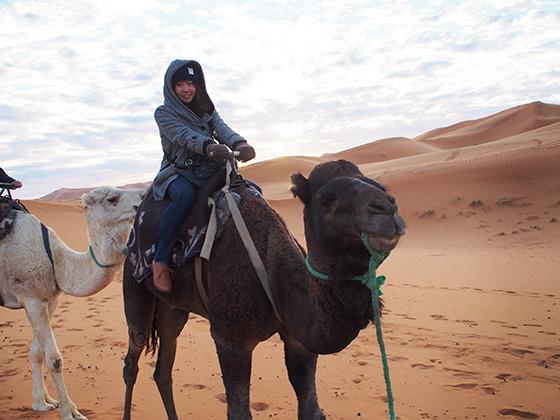 モロッコ サハラ砂漠 ラクダ 09