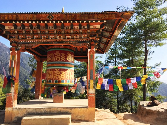 ブータンのタクツァン僧院005