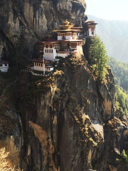 ブータンのタクツァン僧院006