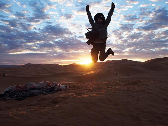 モロッコ サハラ砂漠 ラクダ 08