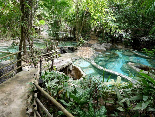 タイのクラビ温泉006
