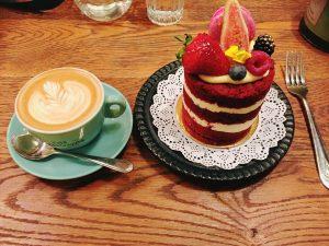 シドニーのカフェ