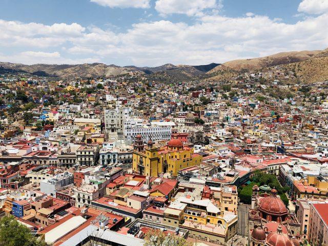 メキシコ 街 カラフル 04