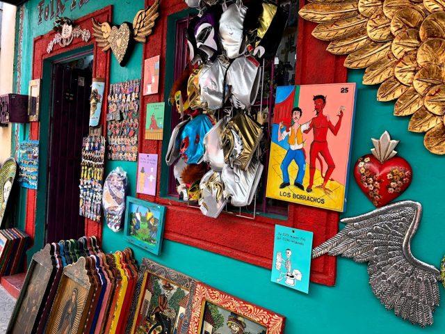メキシコ 街 カラフル 08