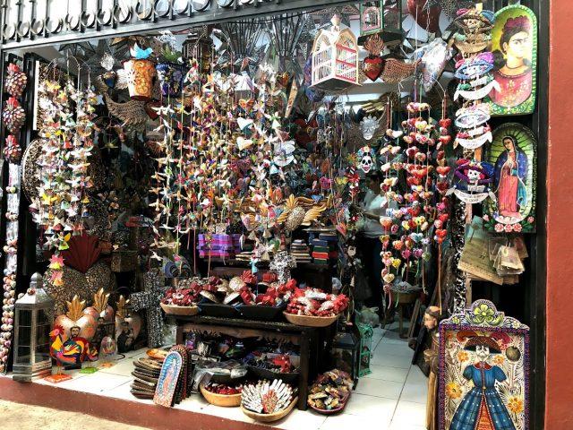メキシコ 街 カラフル 09