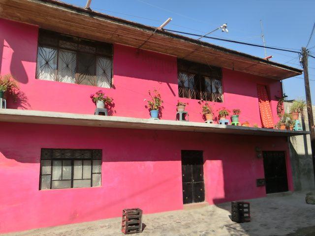メキシコ 刺繍とアートの町 11