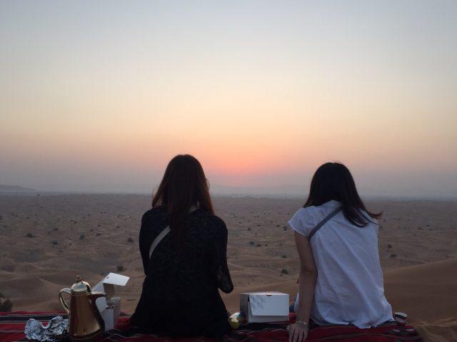 ドバイ 砂漠 サンライズツアー 09