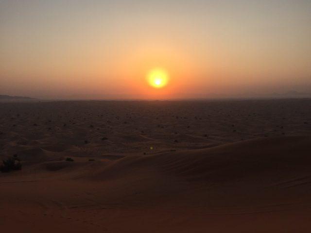 ドバイ 砂漠 サンライズツアー 05