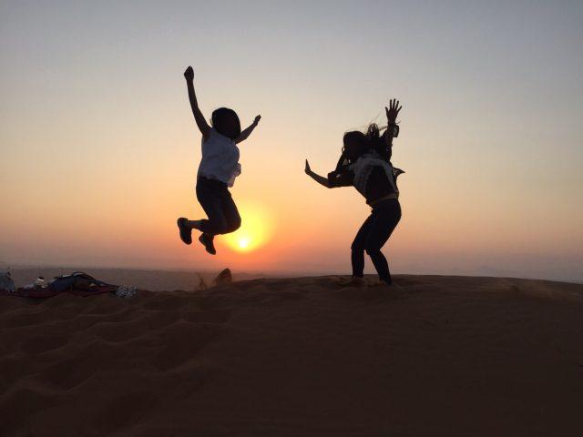 ドバイ 砂漠 サンライズツアー 06