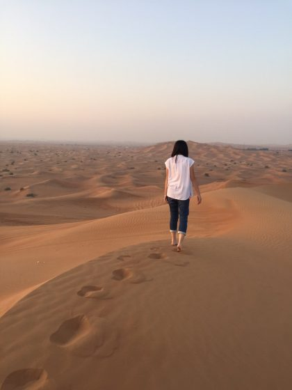 ドバイ 砂漠 サンライズツアー 07