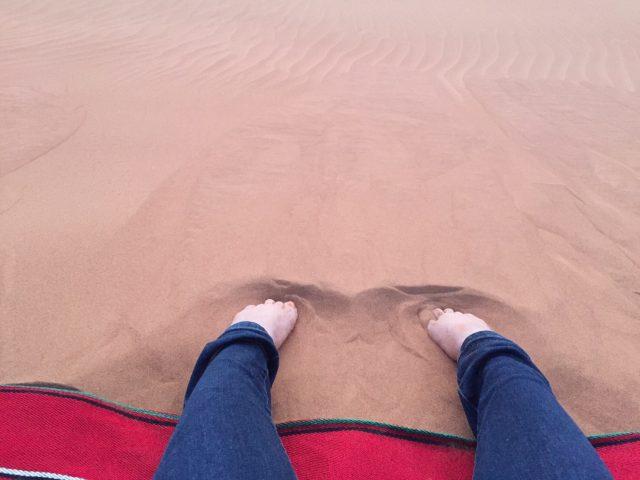 ドバイ 砂漠 サンライズツアー 08