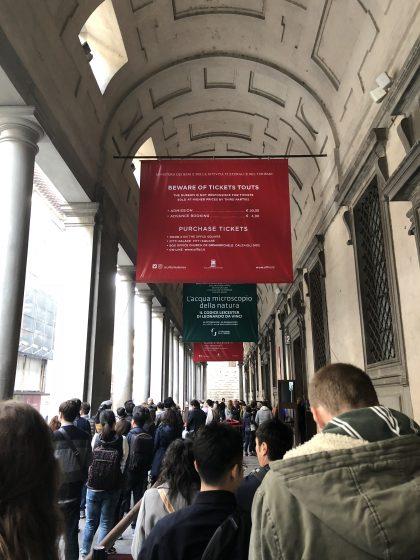"Italy_firenzecard_uffizi_entrance"""""