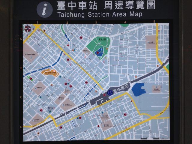 "Taiwan_taichung_stationmap"""""
