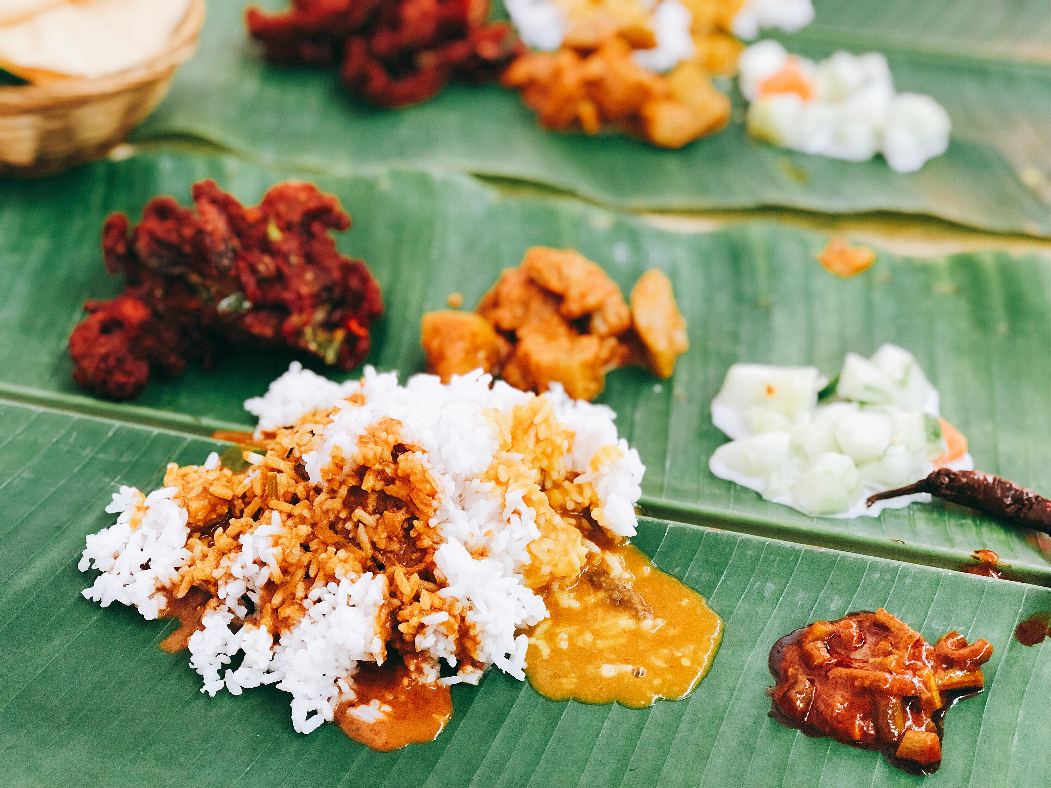 """Malaysia_Localgourmet_Bananaleafcurry_016"""""""""""