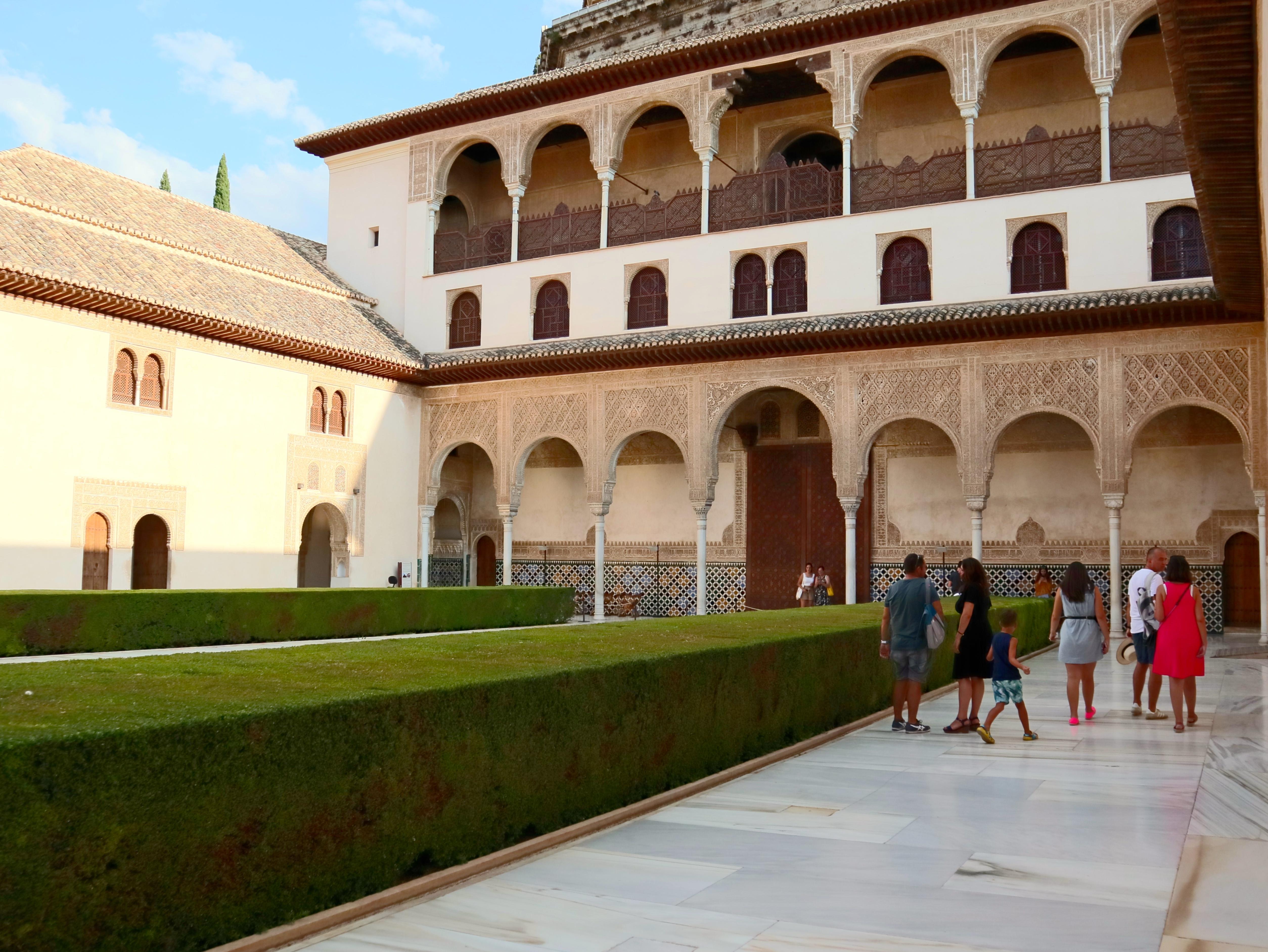 "Granada_Alhambra_PatiodeComares_003"""""