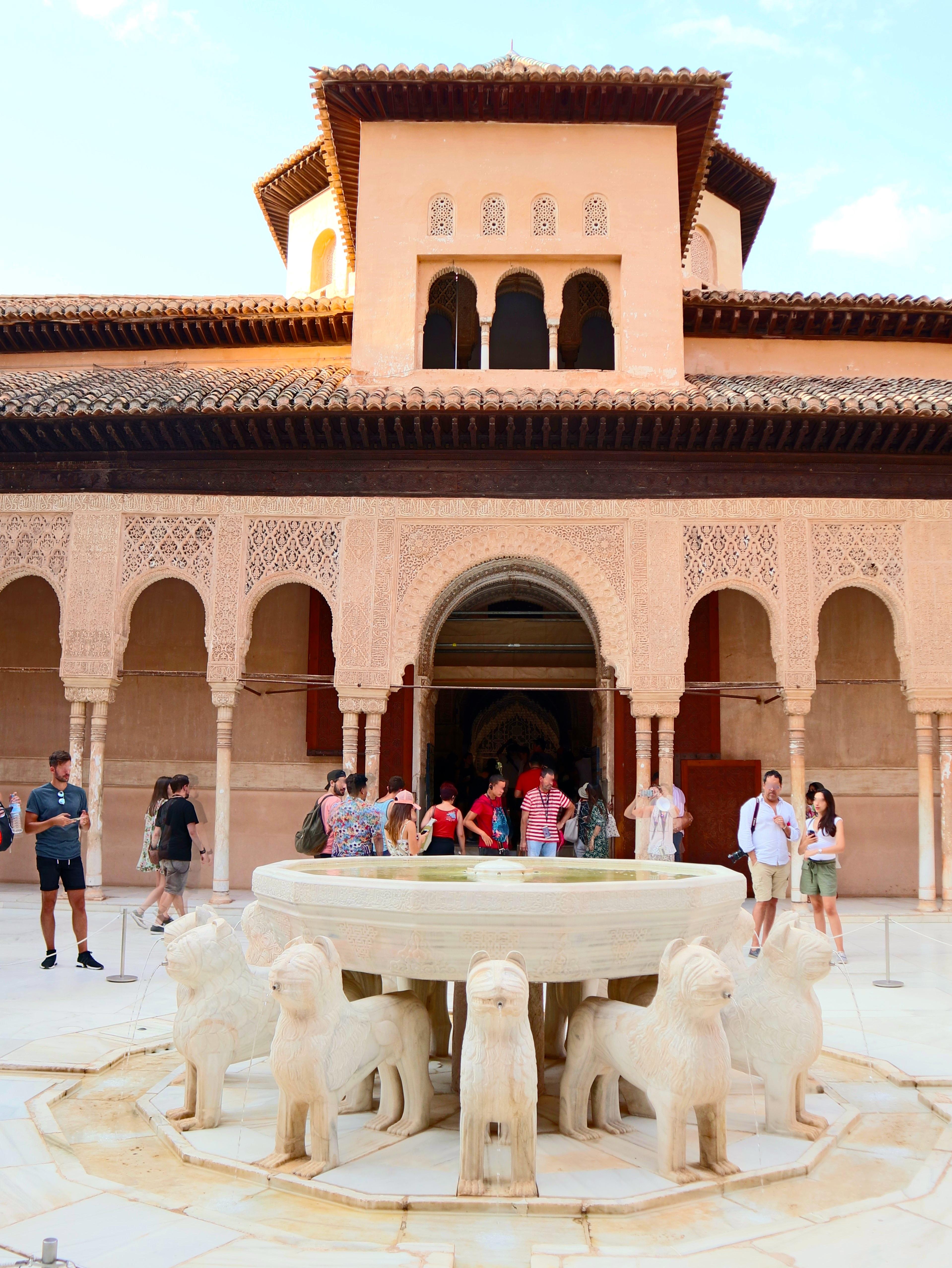 "Granada_Alhambra_PatiodeLosLeones_001"""""