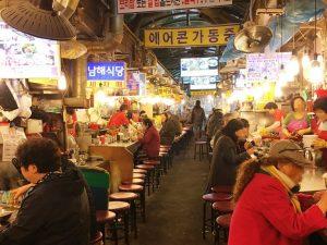 ソウル南大門ククス通りの巨済食堂(コジェシクタン)でオモニのあったかカルグクスを食べよう♪