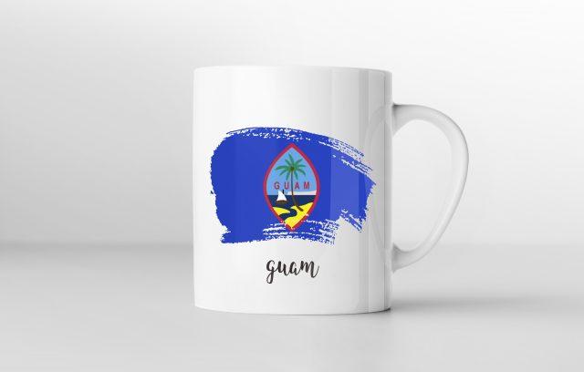 guam_グアムロゴのマグカップ