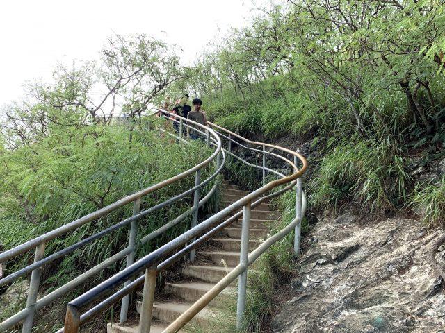 迂回ルートの階段