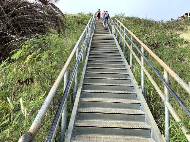 迂回ルートの階段2
