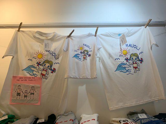 HAPPY HALEIWAのTシャツ