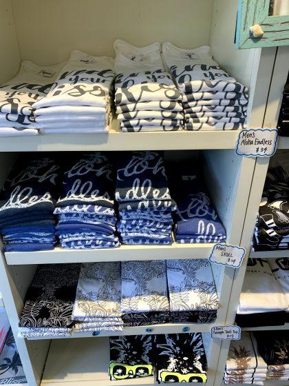 ブリスクローゼットハワイのメンズTシャツ