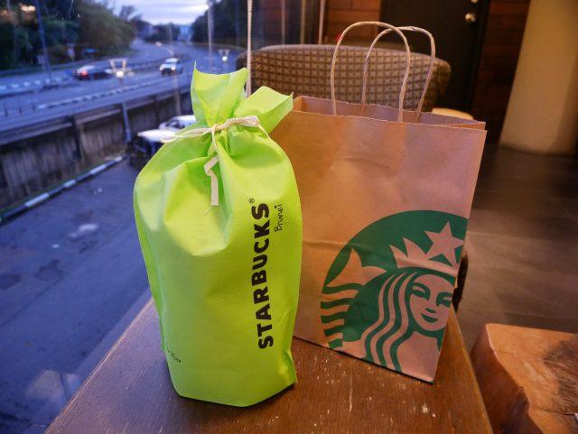 """Brunei_starbucks_shoppingbag"""""""""""