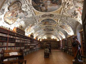 図書館なのに修道院!?Library of Strahov Monasteryストラホフ修道院