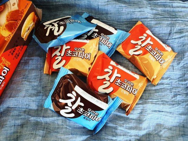 オリオンのチョコパイの小袋