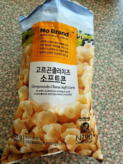 No Brandのゴルゴンゾーラチーズ ソフトコーン