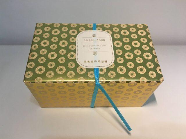 国賓パイナップルケーキ パッケージ