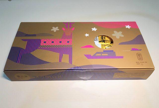 台南産パイナップルケーキ パッケージ