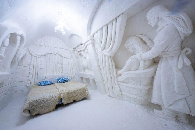 スノーホテルに宿泊