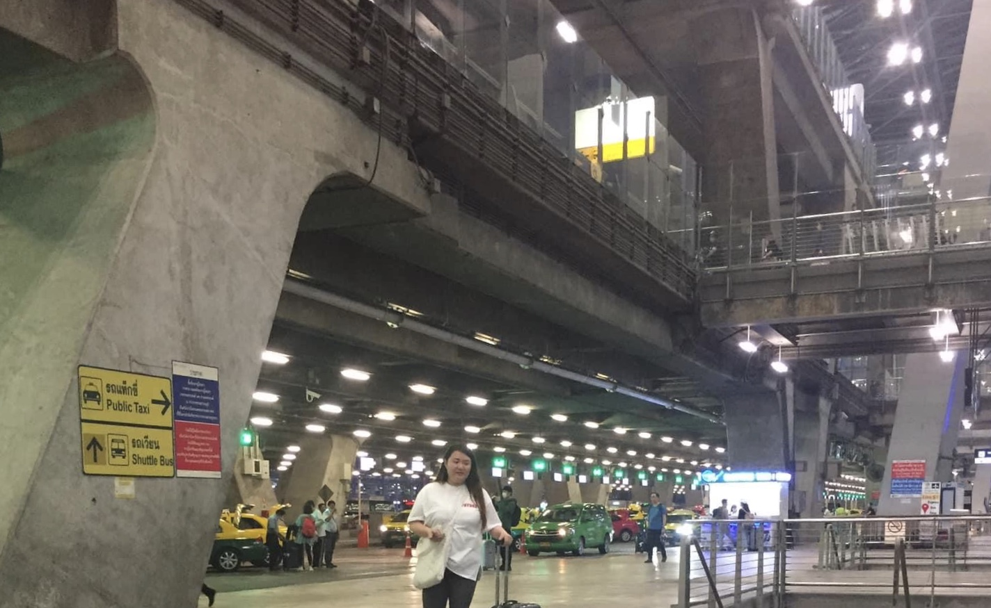 スワンナプーム空港 タクシー乗り場