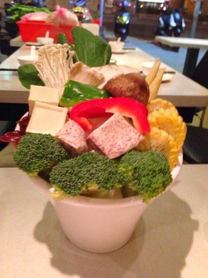 蜀辣(シューラァ)の野菜