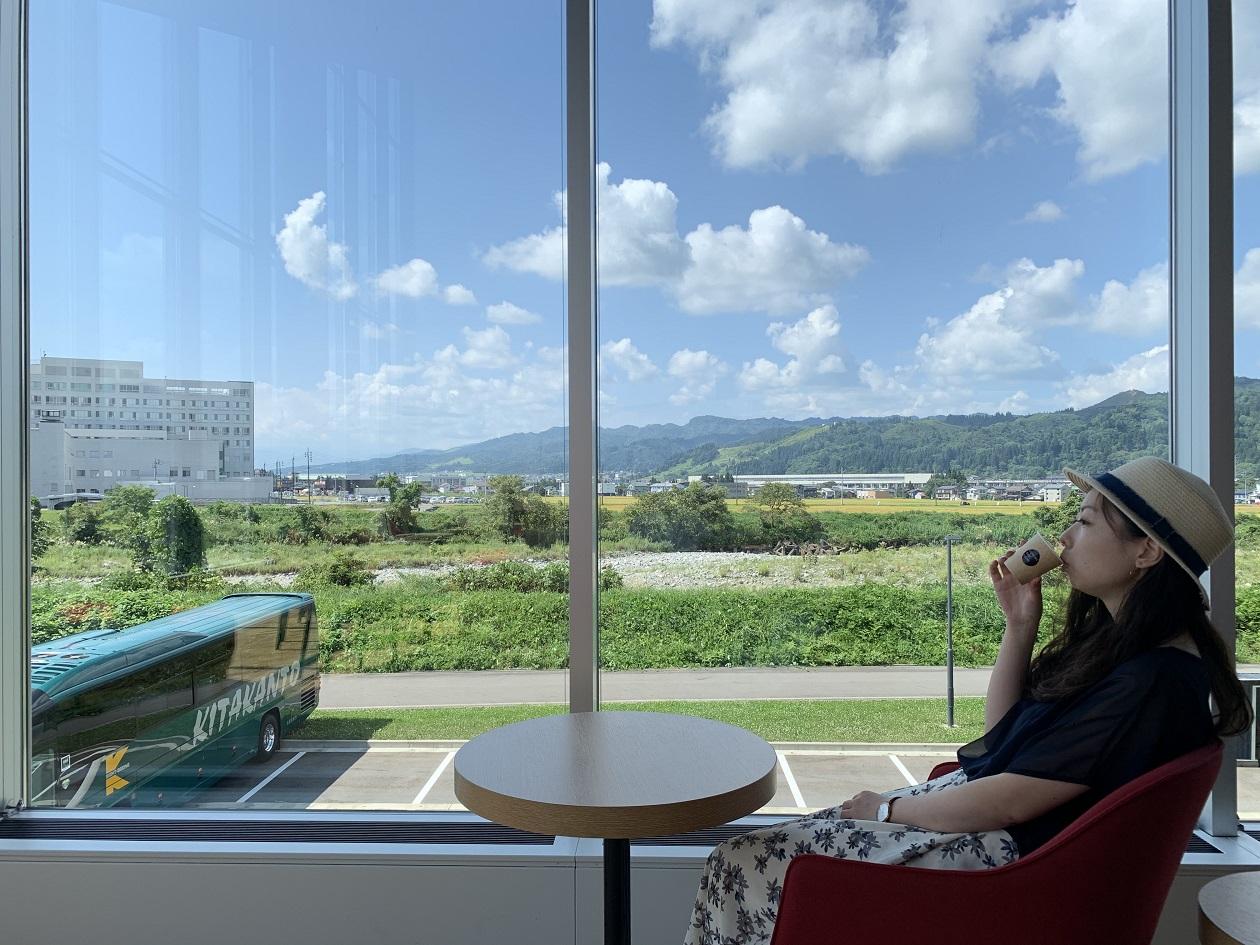 UONUMA KOJI SALONからの眺め