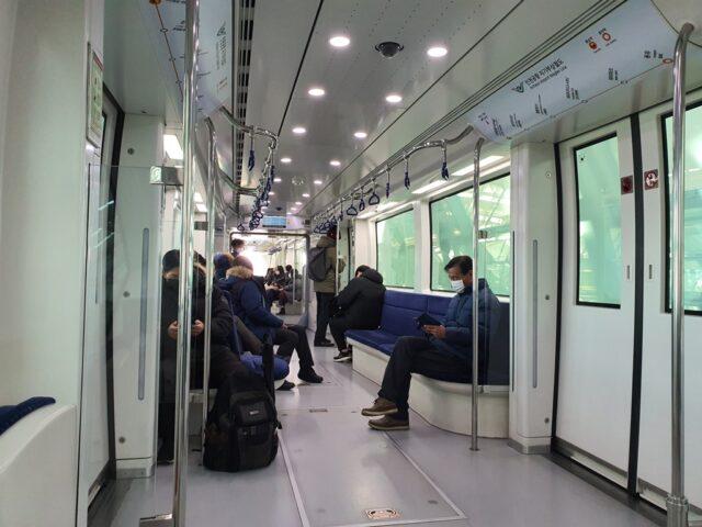 電車の様子