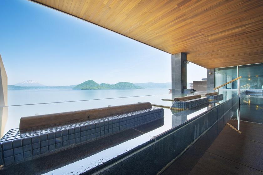 洞爺湖万世閣ホテル レイクサイドテラス 風呂2