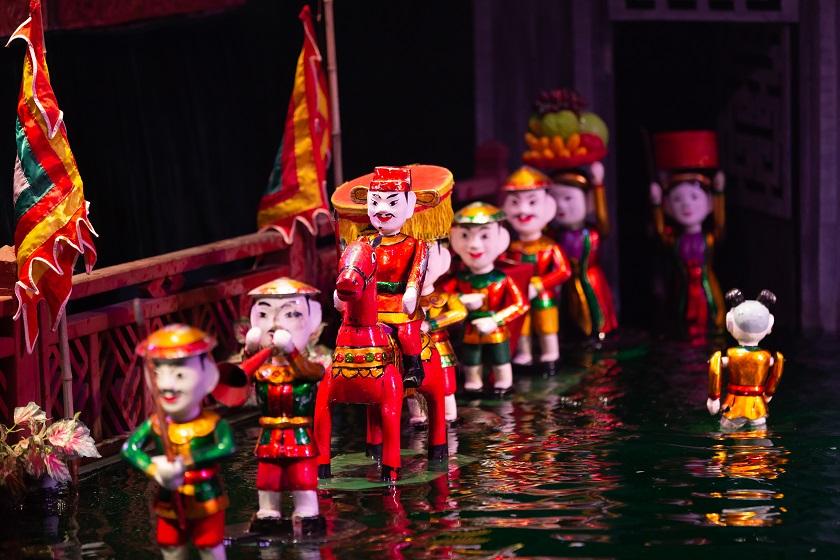 水上人形劇/伝統芸能