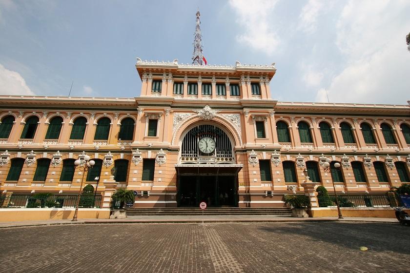 サイゴン中央郵便局/コロニアル建築1