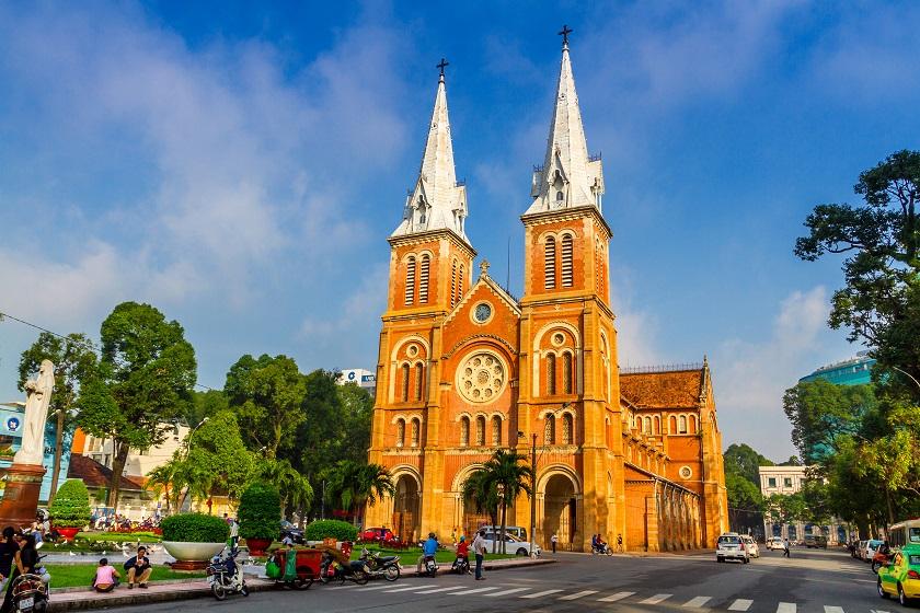 サイゴン大聖堂/コロニアル建築1